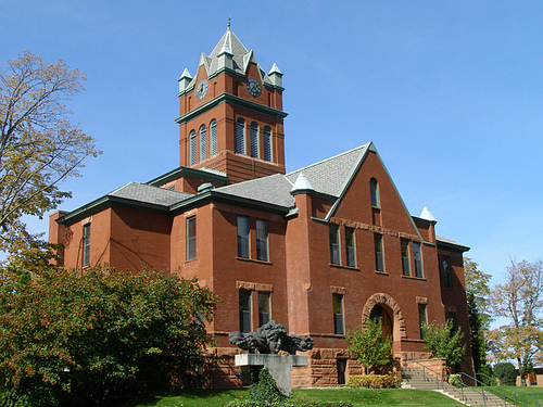 Traverse County Courthouse.TGrier
