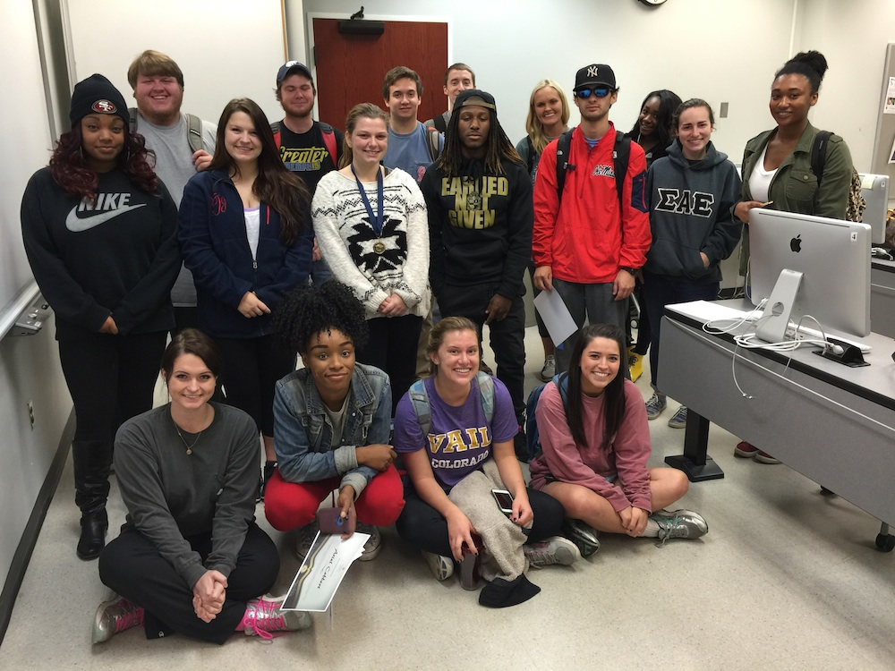 Class 2. Front row, from left: Meagan Robinson, Ariel Cobbert, Haley Renschler, Elizabeth Darcey; middle row, from left, Lynecia Christion, Bryce Dixon, Olivia Morgan, Austin Ivy, Brian Romski, Alice McKelvey, Dominique McGhee; back row, from left, James Lott, Desmen Ison, Nate Larkin, Austen Derrick, Emily Schrimsher and Kennedy Johnson.