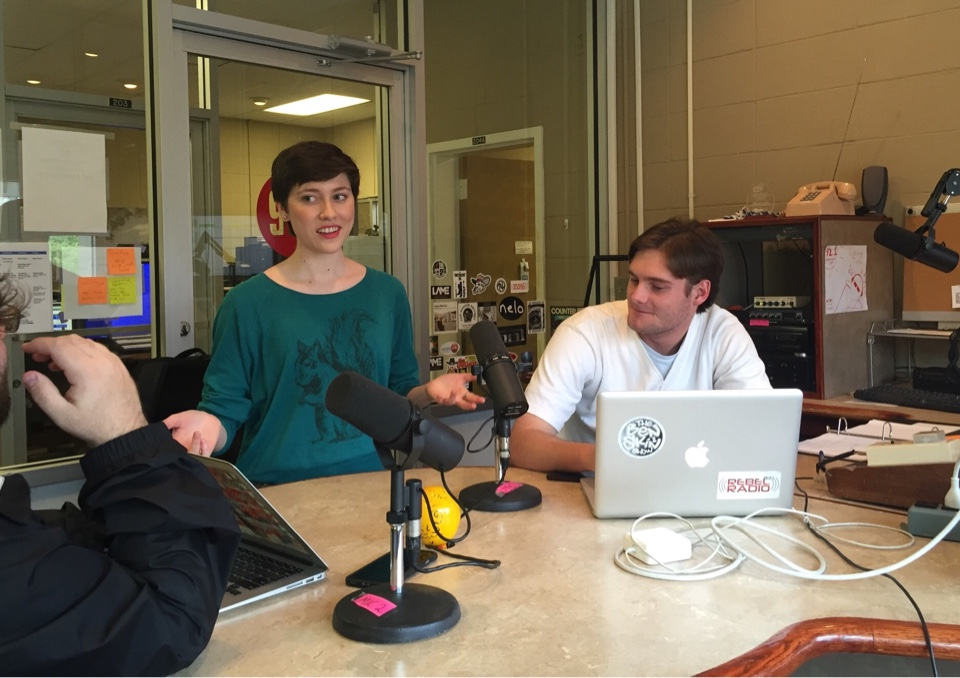 radio amy studio sports meek hornsby rebel student djs meets olemiss edu
