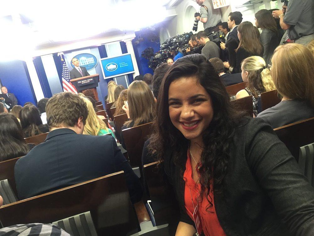 Daniella Oropeza.Briefing Room