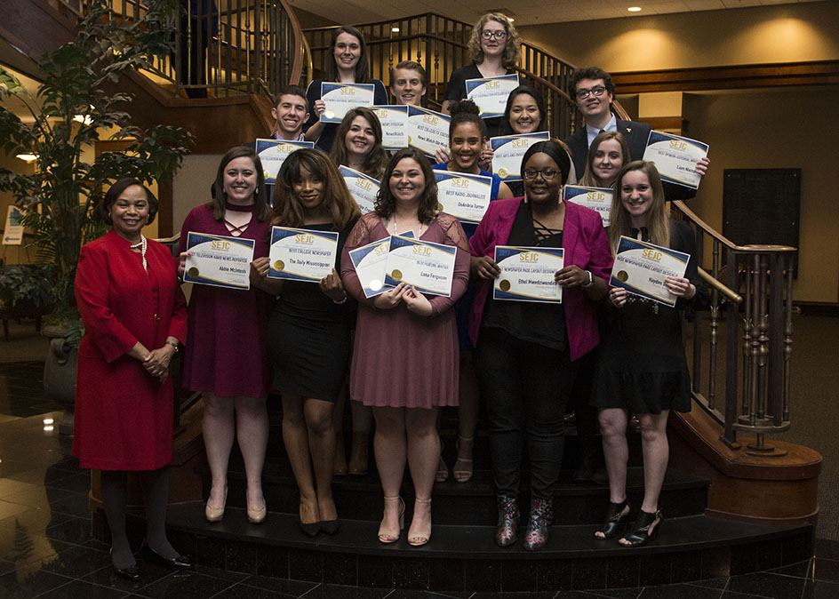 UM students win Southeast Journalism Conference championship