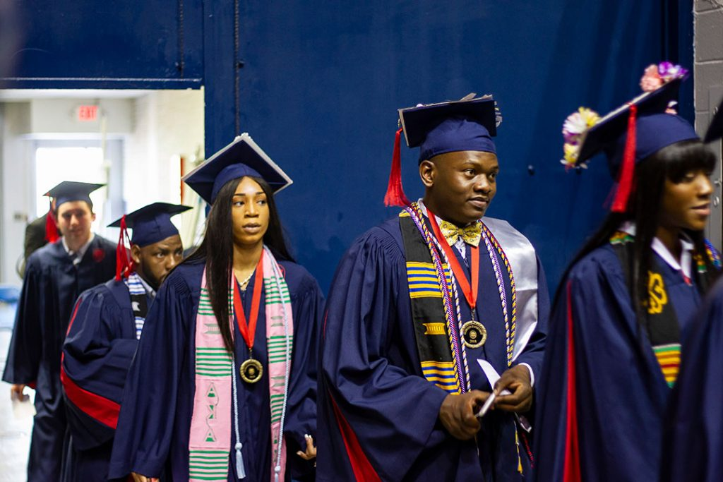 Around 400 students graduated in May from Meek School of Journalism and New Media