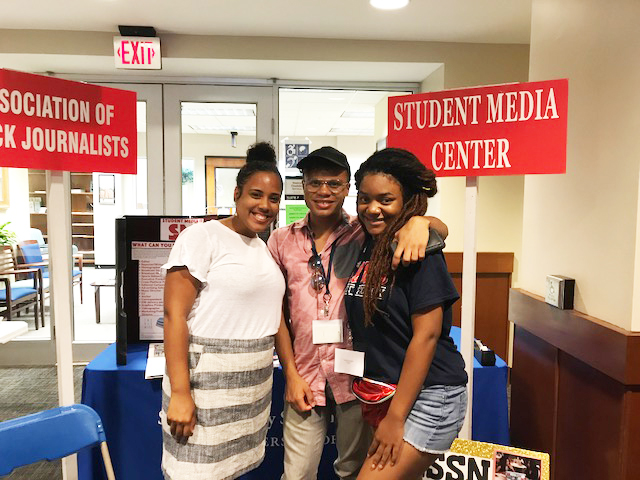 Meek School leaders and students welcome MOST Conference visitors