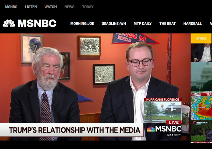 Meek School professor and grad featured on MSNBC